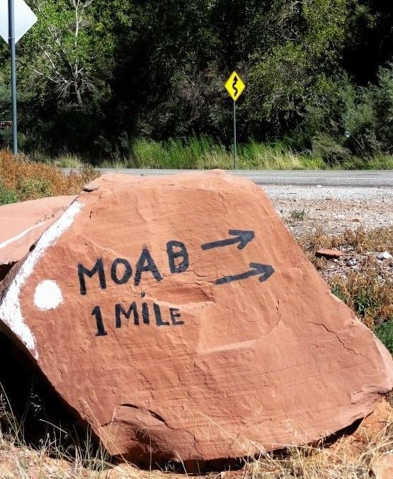 Moab rocher