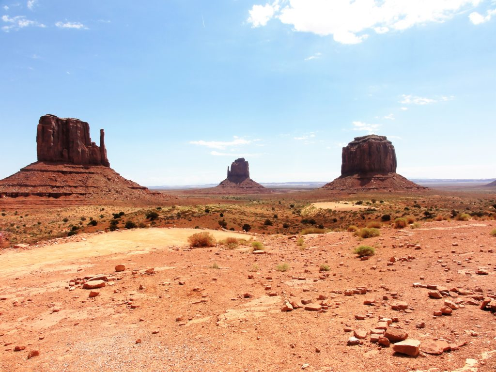 Vue visitor center Monument Valley