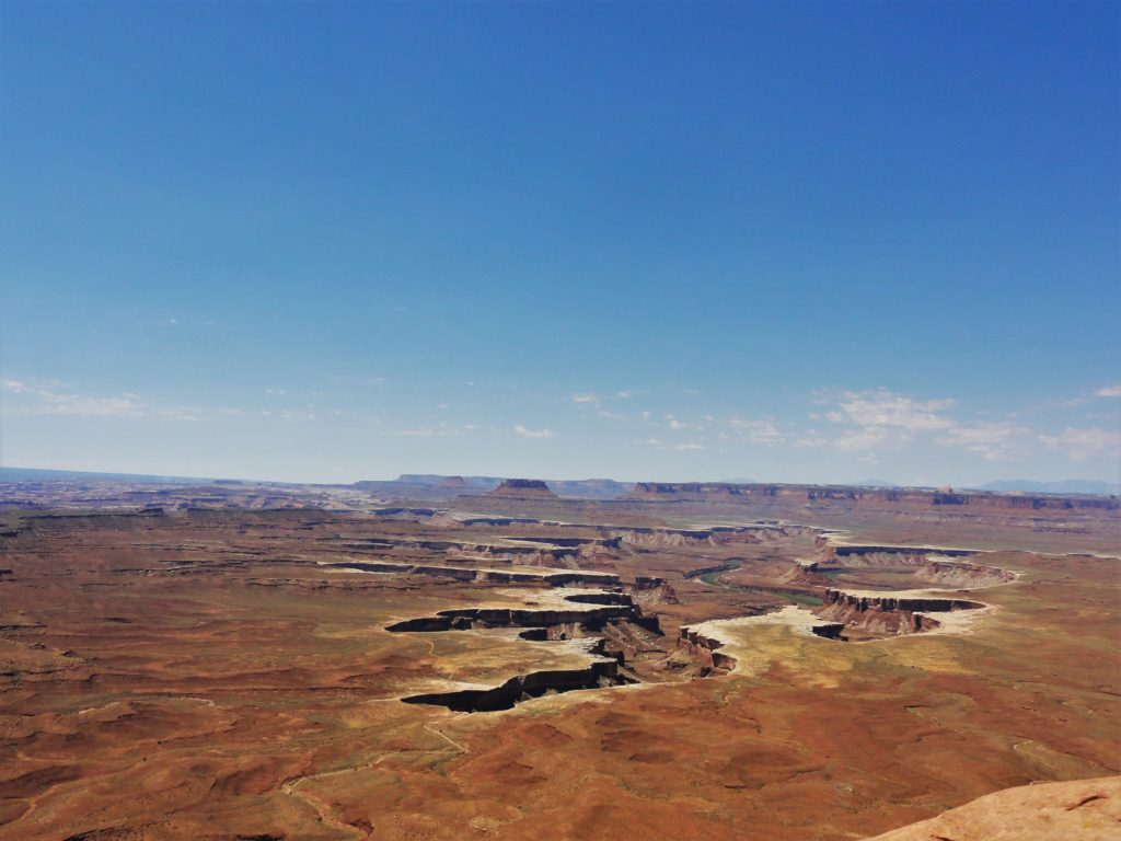 Canyonland Green river overlook
