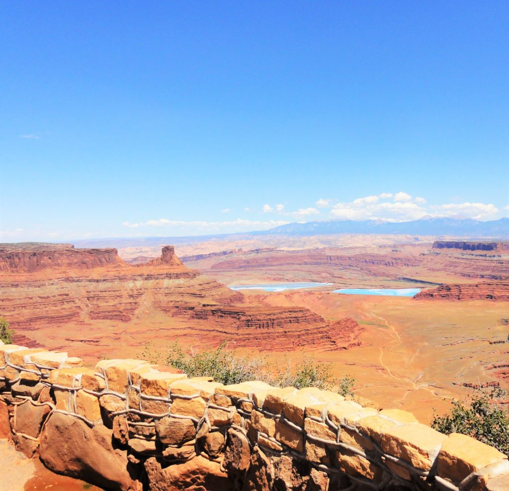 Dead Horse Point bassins