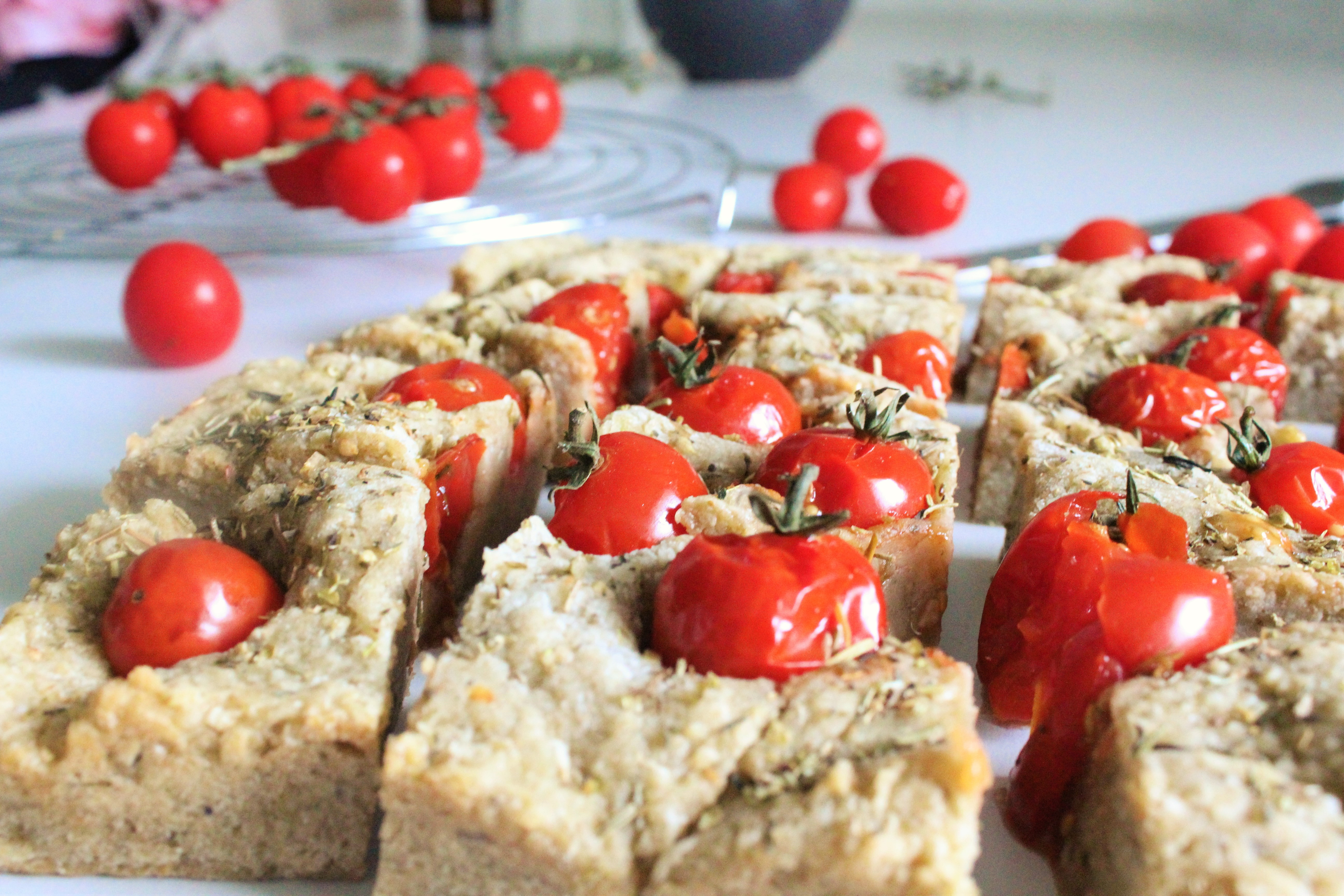 Foccacia tomates cerises 2