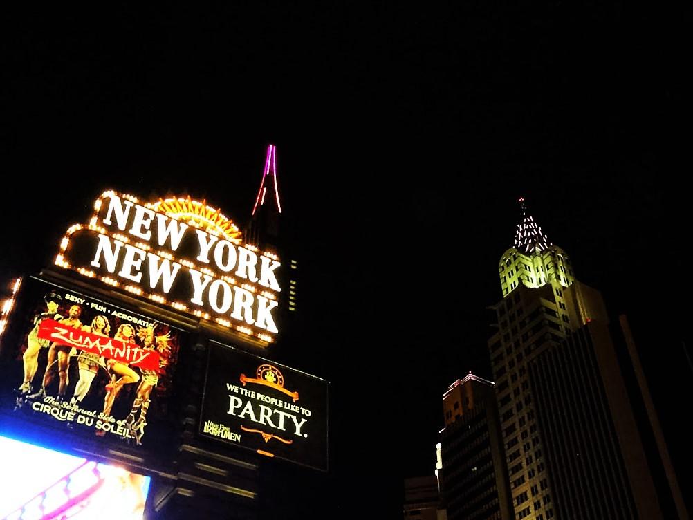 New York enseigne