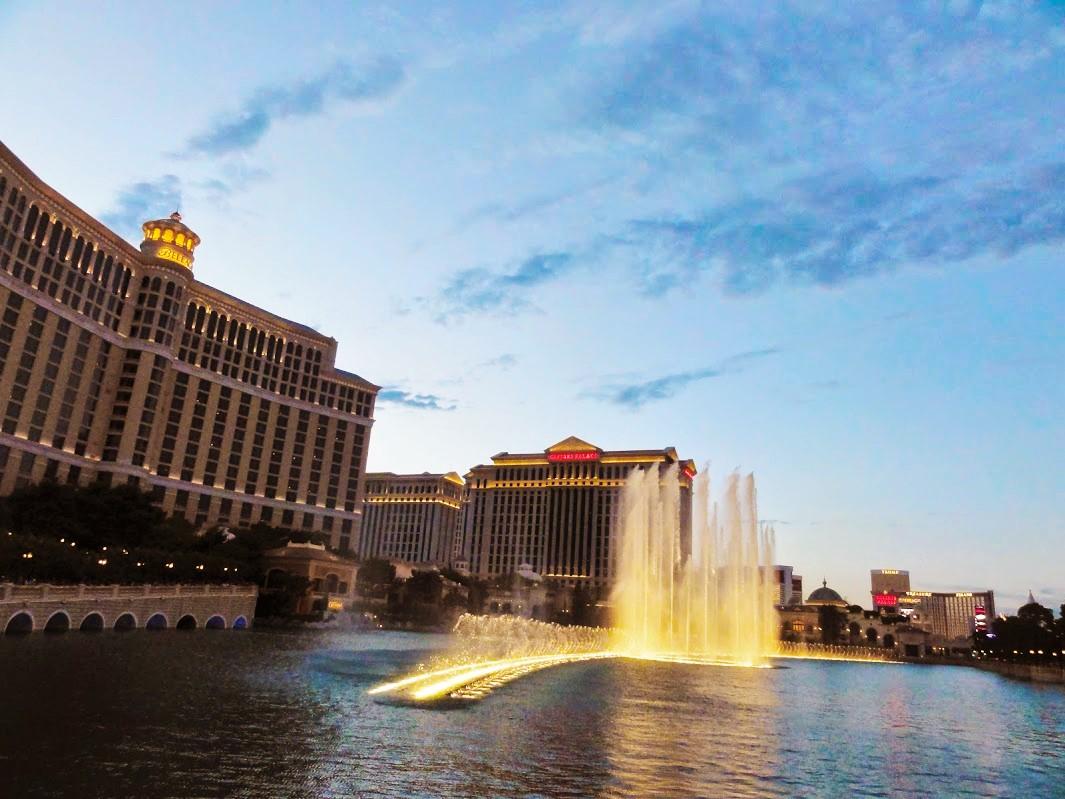 bellagio fontaines