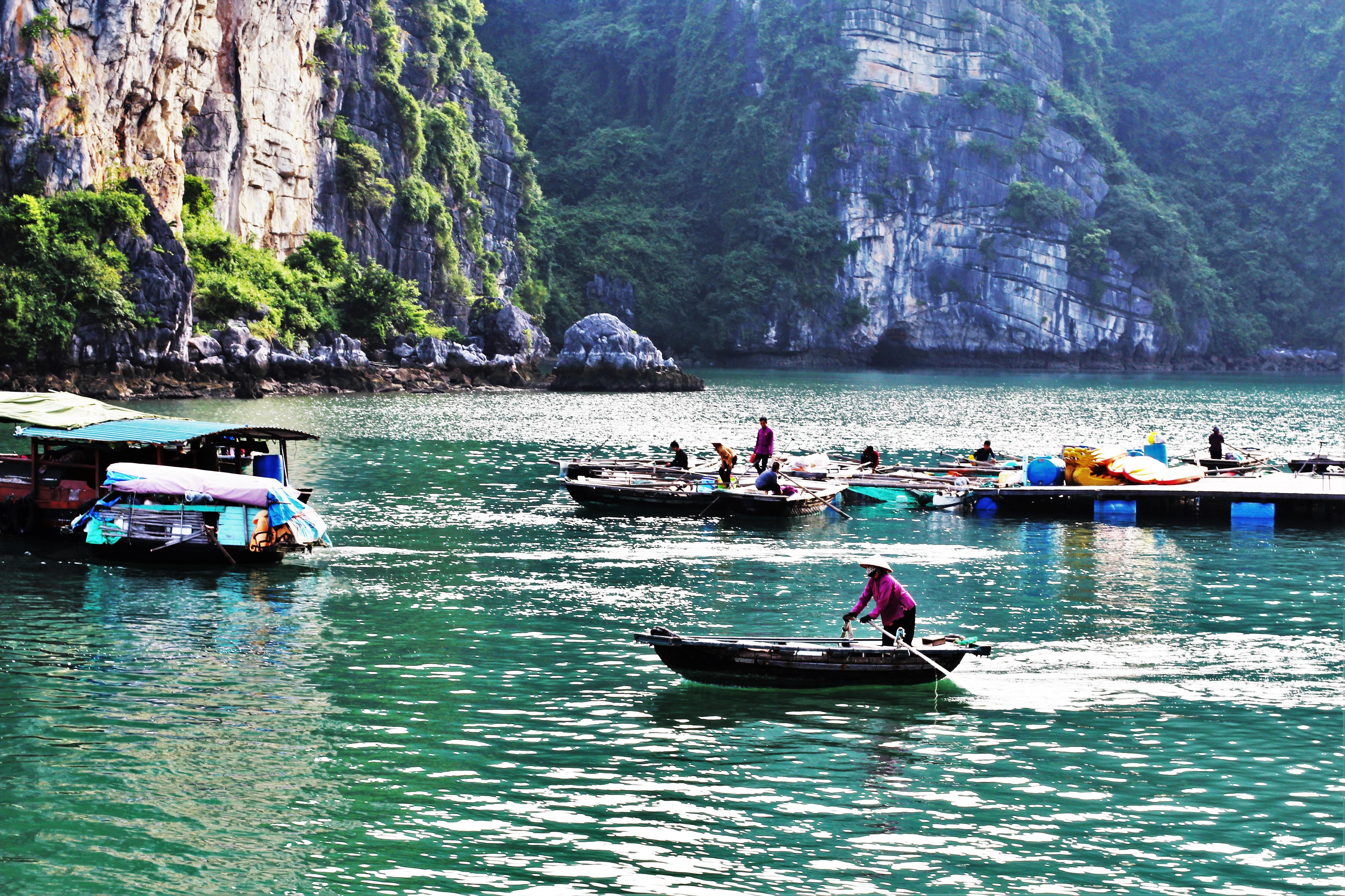 barques baie halong 2