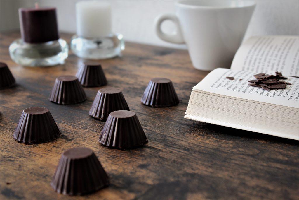 chocolat fourrés praliné noisettes