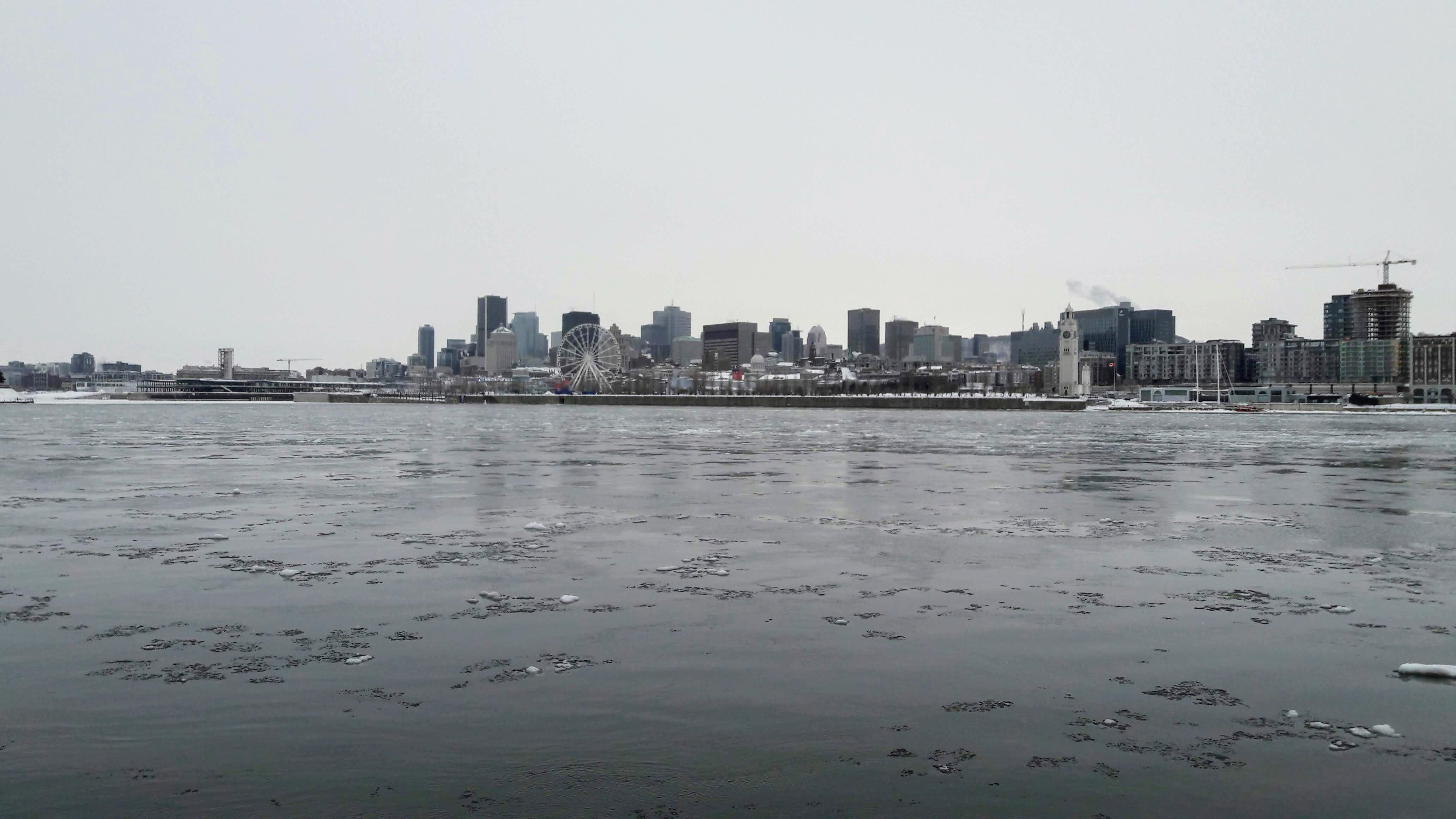 Vue Montréal, parc Jean Drapeau